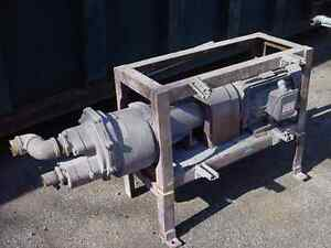 10 Hp Nash 2 Stage Vacuum Pump At124 145 Cfm