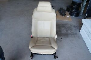 2006 Bmw 750i Front Left Driver Side Seat Leather Beige 16955
