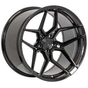 19 Rohana Rfx11 Black Forged Concave Wheels Rims Fits Lexus Is250 Is350