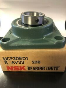 New In Box Nsk Flange Bearing ucf208d1