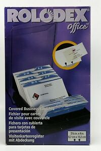 Rolodex Office Covered Card File 500 3 x 5 Cards Included Brand New Packaging