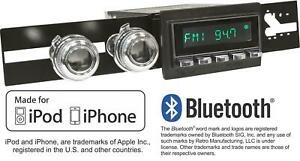 Retrosound 71 75 Mopar B Body Long Beach Radio Iphone Bluetooth Aux In