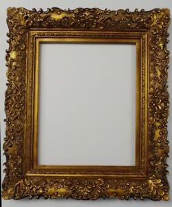 Picture Frame 12x16 Vintage Antique Style Ornate Baroque Bronze Gold Brown 256g