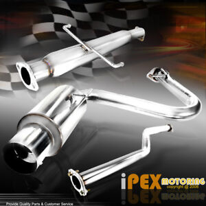 2005 2010 Scion Tc Jdm N1 Exhaust Catback Muffler W Silencer bolts gaskets Kit