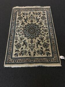 On Sale Fine Hand Knotted Persian Naein Naeen Wool Rug Carpet 2 11 X4 5