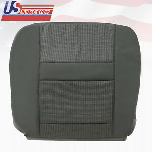 2007 2008 Dodge Ram 2500 3500 Driver Bottom Fabric Seat Cover In Med Slate Gray
