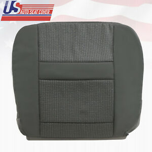 Fits 2007 10 Dodge Ram Truck 1500 Passenger Bottom Cloth Seat Cover In Gray