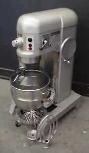 Hobart 60qt 60 Qt Dough Mixer H600t 1 5 Hp three Phase 4
