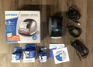Dymo Labelwriter 400 Turbo Label Printer Direct Thermal 93176 Vhtf Used Once