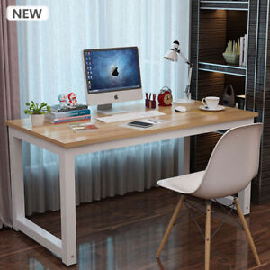 Modern Office Furniture Wooden Metal Computer Pc Home Office Desk Study Table