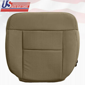 2008 Ford F150 Extended Cab Driver Bottom Cloth Seat Cover In Pebble Tan