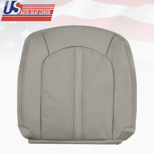 2011 2012 2013 Cadillac Cts 4x4 Driver Passenger Bottom Leather Seat Cover Gray