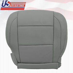 2005 2015 Gray Front Passenger Bottom Leather Oem Seat Cover For Nissan Titan Se