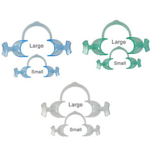 Dental Teeth Whitening Cheek Retractor In Large And Small With Different Colors