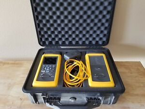 Fluke Dsp 4100 Cable Analyzer With Dsp 4100sr Smart Remote Great Condition