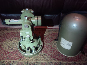 Wild Heerbrugg T3 Precision Theodolite Transit For Surveying Swiss Made