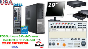 Low Price Full Pos All in one Point Of Sale System Combo Kit Retail Store Entry