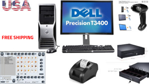 Low Price Full Pos All in one Point Of Sale System Combo Kit Retail Store Dell
