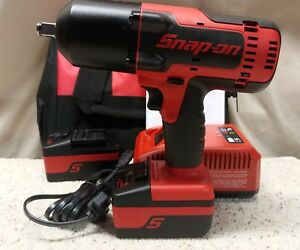 Snap On Ct8850 1 2 18 Volt Monsterlithium ion Impact Wrench Kit brand New