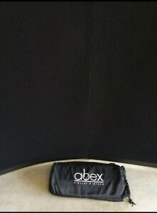 Abex Display System 5 5 x5 5 Trade Show Pop Up Display Case Easy Set Up nice
