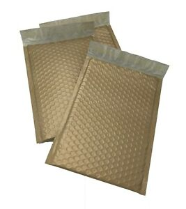 250 0 6x10 Poly Gold Envelopes Bubble Mailers Padded Case Supplies 6 x10