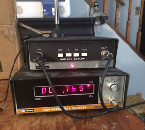 Dynascan Bk Precision Frequency Counter 1801 Ham Radio Used Works