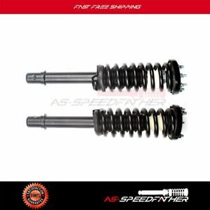 For 2003 2007 Honda Accord 2 4l 3 0l 2 Pieces Front New Complete Shock Strut