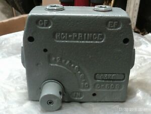 Hci prince Rd 175 16 Hydraulic Lever Flow Control Valve 16gpm 3000psi C 503