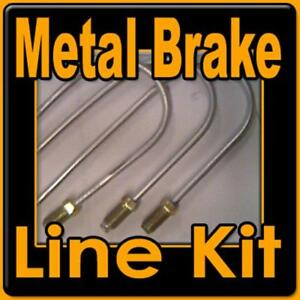 27 Piece Metal Brake Line Kit For Chevrolet Gmc Trucks 1967 To 1999 Full Kit