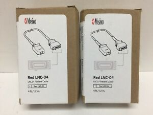 Masimo Lncs Patient Cable Red Lnc 04 4 Ft Ref 2055