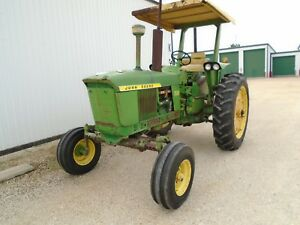 2520 John Deere Powershift Gasoline 1970 Row Crop