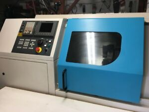 Clausing Storm A90 6000 Rpm Fanuc Control Barfeeder And Very Low Hrs