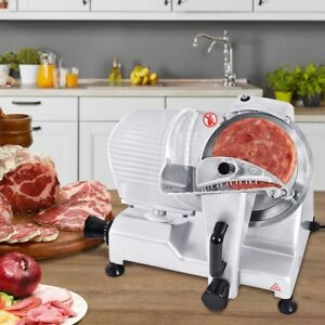 9 Blade Commercial Meat Slicer Deli Meat Cheese Food Slicer
