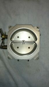 Momar 4150 Billet 4 Barrel Throttle Body 1600 Cfm 4bbl Like Fast Accel Dfi