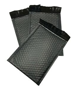 500 0 6x10 Poly Black Envelopes Bubble Mailers Padded Case Supplies 6 x10