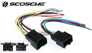 Chevy Aveo Car Stereo Cd Player Wiring Harness Wire Aftermarket Radio Install