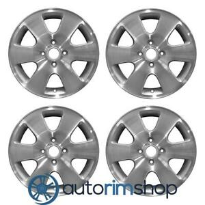 New 16 Replacement Wheels Rims For Ford Focus 2000 2003 Set Machined With Silve