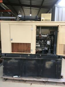 Generac 25 Kw Diesel Generator Mazda 3 0 Engine Low Hours Single Phase