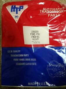 Transmission Rebuild Kit Ford Fmx 1968 1981 With Steels And Friction