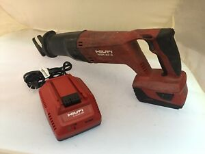 Hilti Wsr 22 a 21 6v Li ion Cordless Reciprocating Saw With Battery And Charger