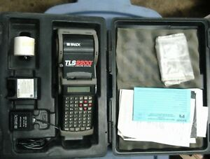 Brady Tls2200 Thermal Labeling System W hard Case Not Working Parts Or Repair