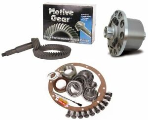 98 13 Gm 9 5 Chevy 14 Bolt 3 73 Ring And Pinion Truetrac Posi Motive Gear Pkg