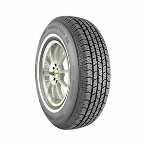Set Of 4 Cooper Tires Trendsetter Se Tires 215 75 15 Radial Whitewall 01311