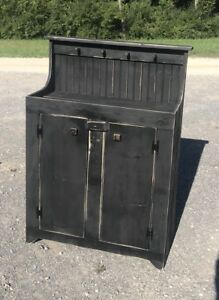 Primitive Handcrafted Dry Sink