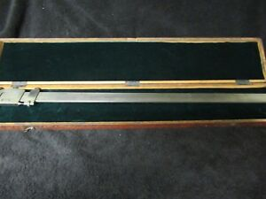 Jansson Gage Co 24 Inch Vernier Caliper With Wood Case