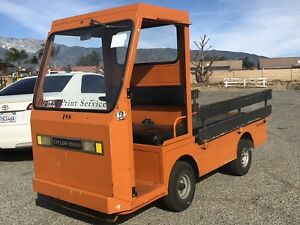 Taylor Dunn B2 48 Industrial Flatbed Electric Utility Cart