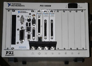 National Instruments Pxi 1000b With Embedded 8176 Includes 8210 6115 X2