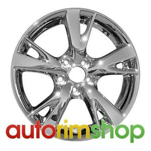 New 18 Replacement Rim For Lexus Is250 Is350 2009 2010 Rear Wheel Pvd Chrome