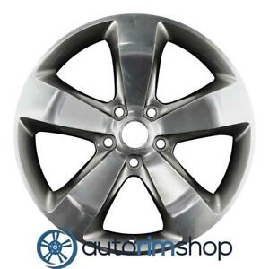 New 20 Replacement Rim For Jeep Grand Cherokee Wheel Polished With Charcoal