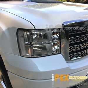 New For All 2007 2013 Gmc Sierra 1500 2500hd 3500hd Chrome Headlights Headlamps
